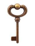 odosobniony kluczowy kościec Obraz Stock