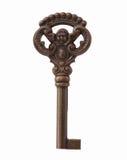 odosobniony kluczowy kościec Obrazy Royalty Free