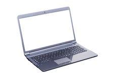 odosobniony komputeru laptop Zdjęcie Stock