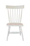 odosobniony krzesło biel obraz stock