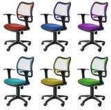 odosobniony krzesła biuro Zdjęcie Royalty Free