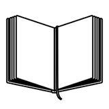 Odosobniony książkowy projekt royalty ilustracja