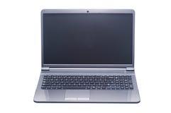 Odosobniony laptop Zdjęcia Royalty Free
