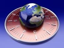 odosobniony London nowi trzy synchronizować Tokyo zegarki biały światowy York Obrazy Royalty Free