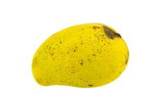 odosobniony mangowy kolor żółty Fotografia Royalty Free