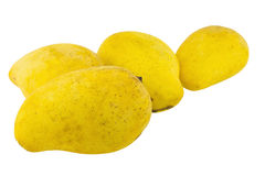 odosobniony mangowy kolor żółty Zdjęcie Stock