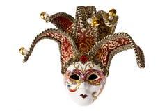odosobniony maskowy venetian Obraz Royalty Free