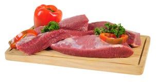 odosobniony mięsny surowy zdjęcie royalty free