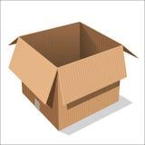 Odosobniony Otwiera Pudełkowatego - Wektorowa ilustracja Ilustracja Wektor
