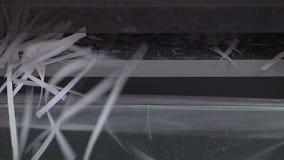 odosobniony papierowy rozdrabniacz zdjęcie wideo