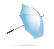 odosobniony parasol Zdjęcie Stock