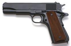 odosobniony pistoletowy biel Zdjęcia Stock