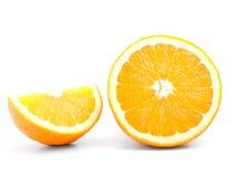 odosobniony pomarańczowy dojrzały Obrazy Stock