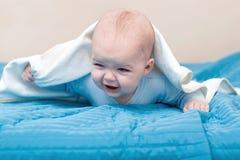 odosobniony ręcznikowy biel Zdjęcia Royalty Free