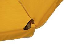Odosobniony słońce parasol Zdjęcia Royalty Free