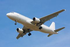 Odosobniony samolot fotografia stock