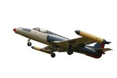 odosobniony samolotu biel Obraz Royalty Free