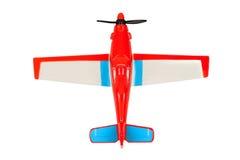 odosobniony samolotu zabawki biel Fotografia Stock