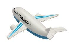 odosobniony samolotu zabawki biel Zdjęcie Royalty Free