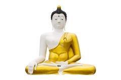Odosobniony - strona duży wizerunek Buddha W Wianghaeng Zdjęcia Stock