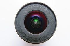 Odosobniony szeroki kąta obiektyw Obraz Stock