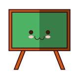 Odosobniony szkolny blackboard Zdjęcia Royalty Free