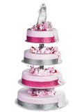 odosobniony torta ślub Obraz Stock