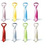 odosobniony ustalony krawat Zdjęcia Royalty Free