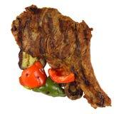 odosobniony wołowina stek Zdjęcie Stock