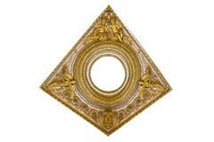 Odosobniony złoty szczegół Obrazy Royalty Free