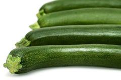 odosobniony zucchini Obraz Royalty Free