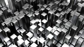 Odpłaca się 3D Geometryczny Abstrakcjonistyczny tło ilustracji