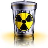 Odpad nuklearny ilustracja wektor