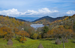 Odpad toksyczny blisko Rosia Montana Obraz Royalty Free