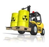 Odpady nuklearne royalty ilustracja