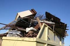odpady przemysłowe pominięcia metali zdjęcie royalty free