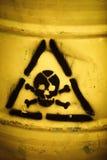 Odpady toksyczne Fotografia Stock