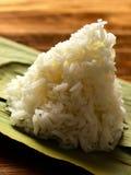 odparowany ryżu biel zdjęcia stock