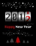 odpierający nowy rok Zdjęcie Royalty Free