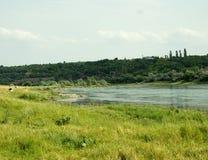 Odpoczynek na lato naturze Piękny lato natury krajobraz Obraz Royalty Free