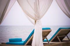 Odpoczynek na oceanie i morzu Zdjęcia Stock
