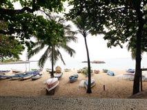 Odpoczynek łodzie fotografia stock