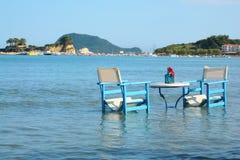 Odpoczynek przy morzem Zdjęcie Royalty Free