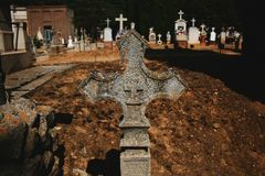 ODPOCZYNKÓW krzyże obrazy royalty free