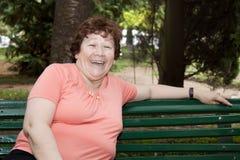 odpoczynkowa kobieta Zdjęcia Stock
