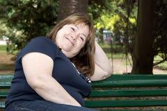 odpoczynkowa kobieta Obraz Stock
