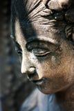 Odpoczynkowa statua w miękkim świetle zdjęcie stock