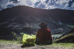 Odpoczywać w Świętej dolinie Obrazy Stock