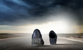 odprowadzić butów Obraz Stock