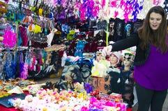 Odpychający rynek Zdjęcie Royalty Free